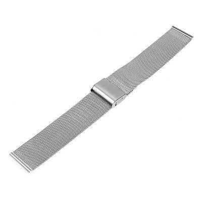 Stylish Stainless Steel Milanese WristbandWatch Accessories<br>Stylish Stainless Steel Milanese Wristband<br><br>Material: Stainless Steel<br>Package Contents: 1 x Wristband<br>Package size (L x W x H): 19.00 x 3.00 x 2.30 cm / 7.48 x 1.18 x 0.91 inches<br>Package weight: 0.0350 kg<br>Product size (L x W x H): 18.00 x 1.80 x 0.28 cm / 7.09 x 0.71 x 0.11 inches<br>Product weight: 0.0300 kg