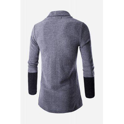 Male Stylish Slim Fit Splicing Knitting CardiganMens Sweaters &amp; Cardigans<br>Male Stylish Slim Fit Splicing Knitting Cardigan<br><br>Package Contents: 1 x Cardigan<br>Package size: 20.00 x 20.00 x 2.00 cm / 7.87 x 7.87 x 0.79 inches<br>Package weight: 0.4000 kg<br>Product weight: 0.3500 kg