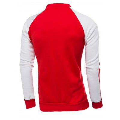 Joint Male Stand Collar Long Sleeves HoodieMens Hoodies &amp; Sweatshirts<br>Joint Male Stand Collar Long Sleeves Hoodie<br><br>Material: Cotton, Polyester<br>Package Contents: 1 x Hoodie<br>Package size: 40.00 x 30.00 x 4.00 cm / 15.75 x 11.81 x 1.57 inches<br>Package weight: 0.5400 kg<br>Product weight: 0.5000 kg