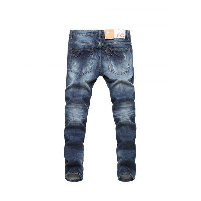Stylish Casual Pure Cotton Material Male JeansMens Pants<br>Stylish Casual Pure Cotton Material Male Jeans<br><br>Material: Cotton, Spandex<br>Package Contents: 1 x Jeans<br>Package size: 30.00 x 35.00 x 2.00 cm / 11.81 x 13.78 x 0.79 inches<br>Package weight: 0.5100 kg<br>Product weight: 0.4900 kg
