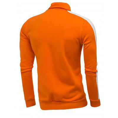 Fashion Male Stand Collar Long Sleeves HoodieMens Hoodies &amp; Sweatshirts<br>Fashion Male Stand Collar Long Sleeves Hoodie<br><br>Material: Cotton, Polyester<br>Package Contents: 1 x Hoodie<br>Package size: 40.00 x 30.00 x 4.00 cm / 15.75 x 11.81 x 1.57 inches<br>Package weight: 0.5400 kg<br>Product weight: 0.5000 kg