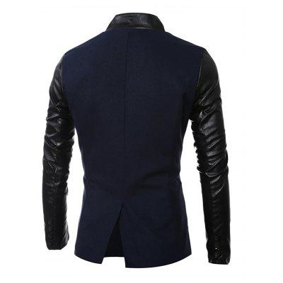 Stand Collar Long Sleeves Coat for MenMens Jackets &amp; Coats<br>Stand Collar Long Sleeves Coat for Men<br><br>Closure Type: Single Breasted<br>Clothes Type: Others<br>Embellishment: Others<br>Materials: Cotton, Polyester<br>Package Content: 1 x Coat<br>Package Dimension: 40.00 x 30.00 x 4.00 cm / 15.75 x 11.81 x 1.57 inches<br>Package weight: 0.8400 kg<br>Pattern Type: Others<br>Product weight: 0.8000 kg<br>Seasons: Autumn,Spring<br>Shirt Length: Regular<br>Sleeve Length: Long Sleeves<br>Style: Casual<br>Thickness: Medium thickness