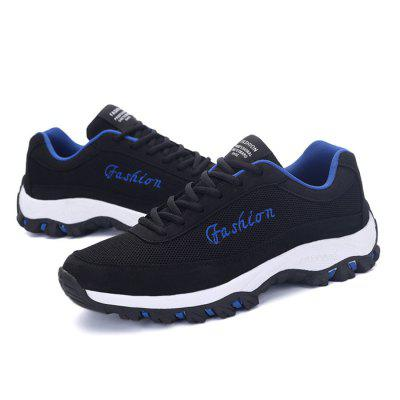 Male Breathable Casual Soft Anti Slip SneakersMen's Sneakers<br>Male Breathable Casual Soft Anti Slip Sneakers<br><br>Closure Type: Lace-Up<br>Contents: 1 x Pair of Shoes<br>Function: Slip Resistant<br>Lining Material: Mesh<br>Materials: Microfiber, Rubber, Mesh<br>Occasion: Sports, Shopping, Riding, Outdoor Clothing, Casual, Running, Daily, Holiday<br>Outsole Material: Rubber<br>Package Size ( L x W x H ): 30.00 x 29.00 x 10.00 cm / 11.81 x 11.42 x 3.94 inches<br>Package Weights: 1.10kg<br>Pattern Type: Letter<br>Seasons: Autumn,Spring<br>Style: Modern, Leisure, Fashion, Comfortable, Casual<br>Toe Shape: Round Toe<br>Type: Sports Shoes<br>Upper Material: Mesh,Microfiber