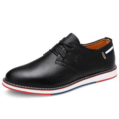 Male Business Casual Soft Stylish Dress ShoesFormal Shoes<br>Male Business Casual Soft Stylish Dress Shoes<br><br>Closure Type: Lace-Up<br>Contents: 1 x Pair of Shoes<br>Function: Slip Resistant<br>Lining Material: Mesh<br>Materials: Microfiber Leather, Rubber, Mesh<br>Occasion: Tea Party, Dress, Daily, Casual, Office<br>Outsole Material: Rubber<br>Package Size ( L x W x H ): 32.00 x 22.00 x 11.00 cm / 12.6 x 8.66 x 4.33 inches<br>Package Weights: 1.10kg<br>Pattern Type: Solid<br>Seasons: Autumn,Spring<br>Style: Modern, Leisure, Fashion, Comfortable, Casual, Business<br>Toe Shape: Round Toe<br>Type: Casual Leather Shoes<br>Upper Material: Microfiber Leather