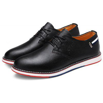 Buy Male Business Casual Soft Stylish Dress Shoes BLACK 44 Bags & Shoes > Men's Shoes > Formal Shoes for $27.72 in GearBest store