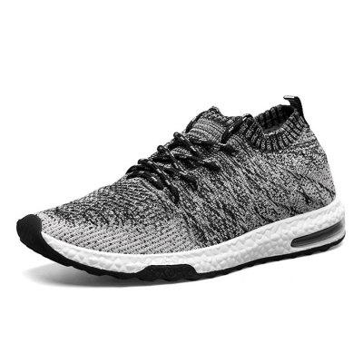 Male Breathable Color Blocking Knitted Sports ShoesMen's Sneakers<br>Male Breathable Color Blocking Knitted Sports Shoes<br><br>Closure Type: Lace-Up<br>Contents: 1 x Pair of Shoes, 1 x Pair of Shoes<br>Decoration: Weave<br>Materials: Woven Fabric, PU<br>Occasion: Sports, Shopping, Running, Outdoor Clothing, Holiday, Daily, Casual<br>Outsole Material: PU<br>Package Size ( L x W x H ): 30.00 x 19.00 x 10.00 cm / 11.81 x 7.48 x 3.94 inches<br>Package Weights: 0.90kg<br>Seasons: Autumn,Spring<br>Style: Modern, Leisure, Fashion, Comfortable, Casual<br>Toe Shape: Round Toe<br>Type: Sports Shoes<br>Upper Material: Woven Fabric