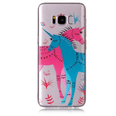 Buy MULTICOLOR Cartoon Unicorn Style TPU Phone Case for Samsung Galaxy S8 for $3.58 in GearBest store