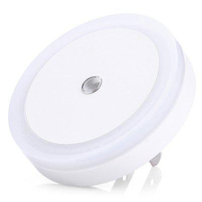 Round Shape Light Sensor LED Wall Plug Small Night Light 220VNight Lights<br>Round Shape Light Sensor LED Wall Plug Small Night Light 220V<br><br>Battery Quantity: 0<br>Color Temperature or Wavelength: 6500K<br>Connector Type: US plug<br>Electric Products: Built-in Electrical Products<br>Features: Sensor<br>Light Source Color: White<br>Light Type: LED<br>Mini Voltage: 220V<br>Package Contents: 1 x LED Night Light<br>Package size (L x W x H): 7.50 x 7.50 x 5.50 cm / 2.95 x 2.95 x 2.17 inches<br>Package weight: 0.0600 kg<br>Plug Type: US plug<br>Power Source: AC<br>Product size (L x W x H): 6.50 x 6.50 x 4.50 cm / 2.56 x 2.56 x 1.77 inches<br>Product weight: 0.0260 kg<br>Production Models: External procurement<br>Quantity: 1<br>Style: Comtemporary<br>Wattage: 0-5W