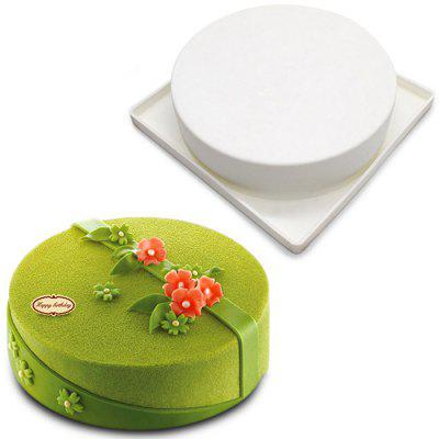 Round Shape Cookie Mousse Cake MoldBaking &amp; Pastry Tools<br>Round Shape Cookie Mousse Cake Mold<br><br> Product weight: 0.1860 kg<br>Material: Silicone<br>Package Contents: 1 x Mold<br>Package size (L x W x H): 23.00 x 23.00 x 9.00 cm / 9.06 x 9.06 x 3.54 inches<br>Package weight: 0.2460 kg<br>Type: Bakeware