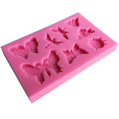 AK SM - 465 Butterfly Shape Cupcake Biscuit Silicone MoldCake Molds<br>AK SM - 465 Butterfly Shape Cupcake Biscuit Silicone Mold<br><br> Product weight: 0.0730 kg<br>Material: Silicone<br>Package Contents: 1 x Mold<br>Package size (L x W x H): 10.00 x 10.00 x 3.00 cm / 3.94 x 3.94 x 1.18 inches<br>Package weight: 0.0880 kg<br>Type: Bakeware