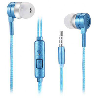 Buy BLUE E 03 Universal Wired In-ear Stereo Earphones with Mic for $1.24 in GearBest store