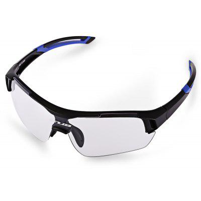 Buy BLUE AND BLACK GUB 5600 Cycling Glasses for $19.80 in GearBest store