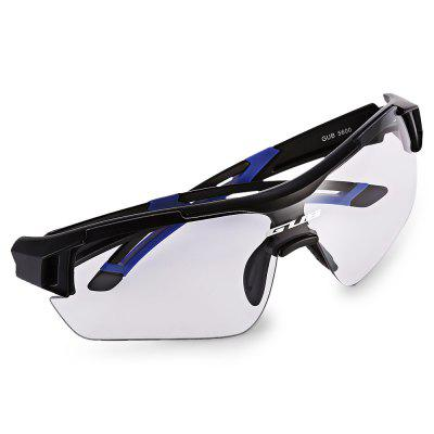 GUB 5600 Cycling GlassesCycling Sunglasses<br>GUB 5600 Cycling Glasses<br><br>Brand: GUB<br>Features: Anti-UV, with Myopic Frame<br>Frame Materials: PC<br>Gender: Unisex<br>Lens material: PC<br>Package Contents: 1 x GUB 5600 Cycling Glasses, 1 x Myopia Frame, 1 x Cleaning Cloth, 1 x Lanyard, 1 x Storage Bag, 1 x Box<br>Package Size(L x W x H): 19.00 x 9.00 x 7.00 cm / 7.48 x 3.54 x 2.76 inches<br>Package weight: 0.1620 kg<br>Product weight: 0.0300 kg<br>Suitable for: Traveling, Hiking, Cycling<br>Type: Goggle