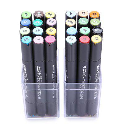 STA 3203 2mm Marker Pen for School 24PCS Double HeadPen &amp; Pencils<br>STA 3203 2mm Marker Pen for School 24PCS Double Head<br><br>Brand: STA<br>Package Contents: 1 x STA 3203 Marker Pen Kit<br>Package size (L x W x H): 17.30 x 11.00 x 7.00 cm / 6.81 x 4.33 x 2.76 inches<br>Package weight: 0.6140 kg<br>Pen Lead Diameter: 2mm<br>Pen Type: Multi Function Pen<br>Product size (L x W x H): 16.30 x 1.50 x 1.50 cm / 6.42 x 0.59 x 0.59 inches<br>Product weight: 0.6040 kg