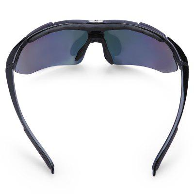UV400 5-replaceable-lenses Polarized Cycling Glasses SetCycling Sunglasses<br>UV400 5-replaceable-lenses Polarized Cycling Glasses Set<br><br>Features: Polarized lens, Removable Legs, Replaceable Lens, UV400, with Myopic Frame<br>Gender: Unisex<br>Package Contents: 1 x Cycling Glasses, 4 x Spare PC Lenses, 1 x Myopia Frame, 1 x Cleaning Cloth, 1 x Headband, 1 x Lanyard, 1 x Storage Bag, 1 x Box, 1 x Polarized Test Card<br>Package Size(L x W x H): 20.00 x 13.00 x 8.00 cm / 7.87 x 5.12 x 3.15 inches<br>Package weight: 0.2780 kg<br>Product weight: 0.0300 kg<br>Suitable for: Hiking, Traveling, Cycling, Mountaineering<br>Type: Goggle