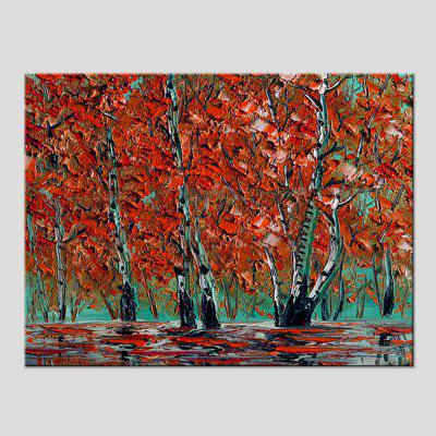 Mintura MT160019 Colorful Abstract Canvas Oil Painting