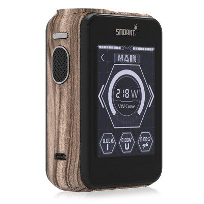 Original Smoant Charon TS218 TC Box ModTemperature Control Mods<br>Original Smoant Charon TS218 TC Box Mod<br><br>Accessories type: MOD<br>APV Mod Wattage: 218W<br>APV Mod Wattage Range: Over 200W<br>Battery Form Factor: 18650<br>Battery Quantity: 2pcs ( not included )<br>Brand: Smoant<br>Material: Zinc Alloy<br>Mod: Temperature Control Mod,VV/VW Mod<br>Model: Charon TS218<br>Package Contents: 1 x Mod, 1 x English User Manual, 1 x USB Cable<br>Package size (L x W x H): 12.00 x 11.00 x 4.70 cm / 4.72 x 4.33 x 1.85 inches<br>Package weight: 0.4500 kg<br>Product size (L x W x H): 8.50 x 5.95 x 2.93 cm / 3.35 x 2.34 x 1.15 inches<br>Product weight: 0.2700 kg<br>Temperature Control Range: 100 - 300 Deg.C / 200 - 600 Deg.F<br>Type: Electronic Cigarettes Accessories