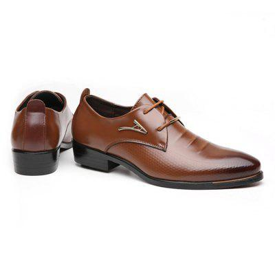 Male Business Stylish Casual Soft Dress ShoesFormal Shoes<br>Male Business Stylish Casual Soft Dress Shoes<br><br>Closure Type: Lace-Up<br>Contents: 1 x Pair of Shoes<br>Function: Slip Resistant<br>Lining Material: Leather<br>Materials: PU, Rubber, Leather<br>Occasion: Office, Dress, Daily, Casual, Formal<br>Outsole Material: Rubber<br>Package Size ( L x W x H ): 25.00 x 18.00 x 11.00 cm / 9.84 x 7.09 x 4.33 inches<br>Package Weights: 0.83kg<br>Pattern Type: Solid<br>Seasons: Autumn,Spring<br>Style: Modern, Leisure, Formal, Fashion, Comfortable, Casual, Business<br>Toe Shape: Round Toe<br>Type: Casual Leather Shoes<br>Upper Material: PU