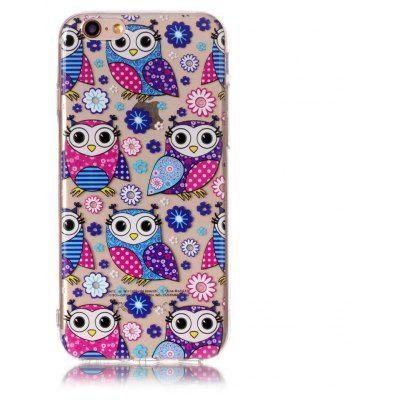 Cartoon Owl Style TPU Soft Phone Case for iPhone 6 / 6S