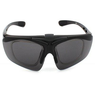 Buy BLACK CTSmart 821 Outdoor Sports Clamshell Cycling Glasses for $6.64 in GearBest store
