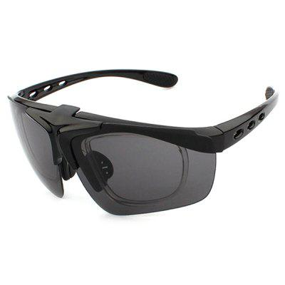 CTSmart 821 Outdoor Sports Clamshell Cycling GlassesCycling Sunglasses<br>CTSmart 821 Outdoor Sports Clamshell Cycling Glasses<br><br>Brand: CTSmart<br>Ear-stems Length: 142mm<br>Features: Replaceable Lens, UV400<br>Gender: Unisex<br>Lens material: Resin<br>Lens width: 68mm<br>Nose bridge width: 16mm<br>Package Contents: 1 x Glasses, 1 x Box<br>Package Size(L x W x H): 17.00 x 7.20 x 6.50 cm / 6.69 x 2.83 x 2.56 inches<br>Package weight: 0.2000 kg<br>Product Size(L x W x H): 14.50 x 14.20 x 4.20 cm / 5.71 x 5.59 x 1.65 inches<br>Product weight: 0.0300 kg<br>Suitable for: Camping, Cycling, Hiking, Traveling, Mountaineering<br>Type: Goggle<br>Whole Length: 145mm