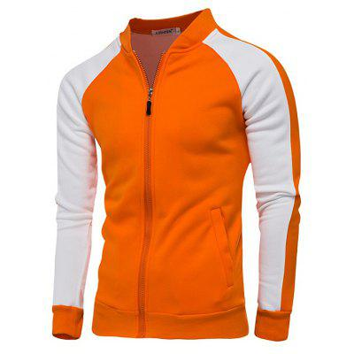 Joint Male Stand Collar Langarm Hoodie