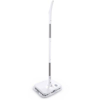 Handheld Electric MopUpright Vacuums<br>Handheld Electric Mop<br><br>Accessories Types: Dustbin,Invisible Wall,Mopping Pad,Remote Controller,Rolling Brush,Side Brush,Water Tank<br>Cleaner Types: Vacuum Cleaner<br>Package Contents: 1 x Electric Mop, 1 x Normal Mopping Pad, 1 x Terry Mopping Pad, 10 x Disposable Mopping Pad, 1 x Measuring Cup, 1 x Adapter, 4 x Connecting Rod<br>Package size (L x W x H): 50.00 x 18.50 x 42.00 cm / 19.69 x 7.28 x 16.54 inches<br>Package weight: 4.8400 kg<br>Product size (L x W x H): 30.00 x 27.00 x 5.00 cm / 11.81 x 10.63 x 1.97 inches<br>Product weight: 2.1560 kg<br>Type: Handheld