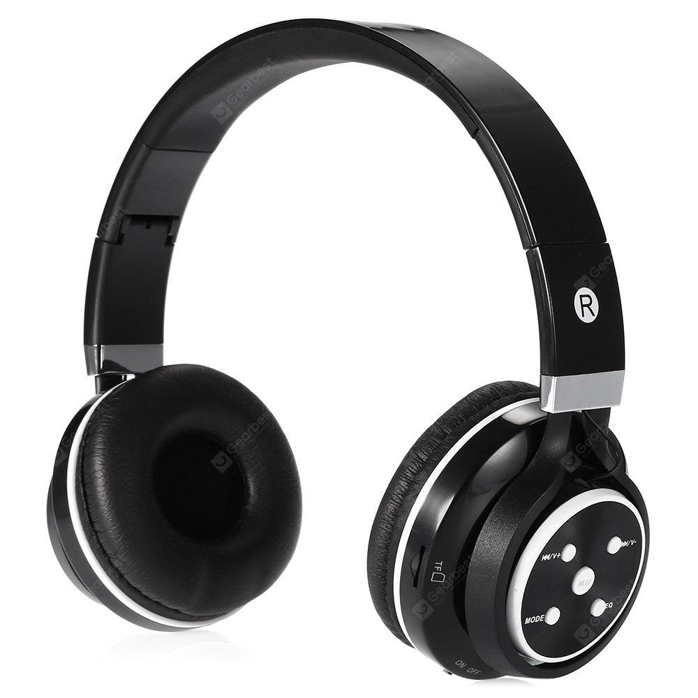 VB07 Foldable Over-ear Soft Stereo Bluetooth Headset with Mic