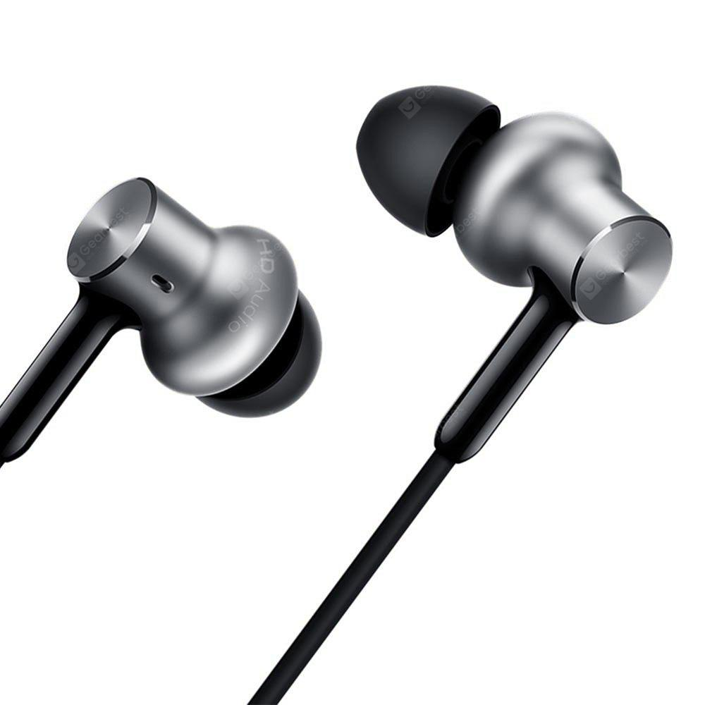 Original Xiaomi Pro HD In-ear Hybrid Earphones - SILVER