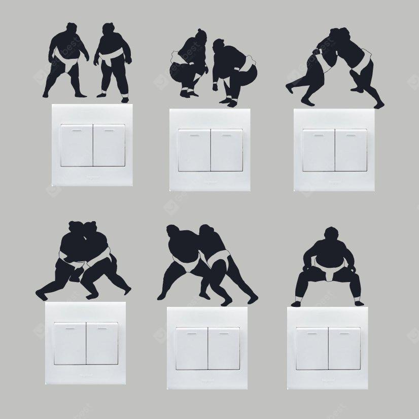 Buy Creative Sumo Wall Sticker Switch BLACK