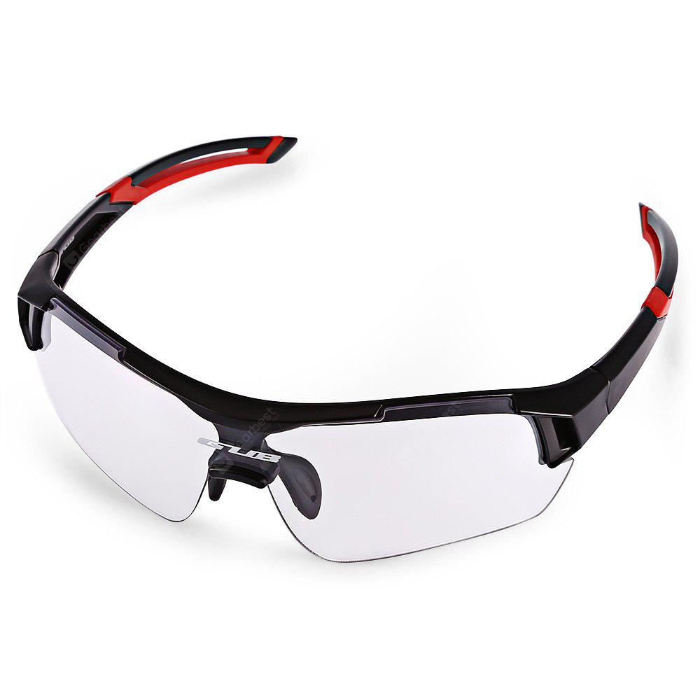 RED WITH BLACK GUB 5600 Cycling Glasses