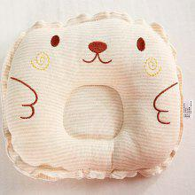 Color Cotton Embroider Baby Pillow for Head Shape