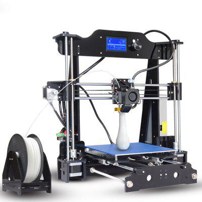 Tronxy X8, 220 x 220 x 200mm, Desktop-DIY-3D-Drucker