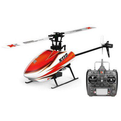 Gearbest XK K110 6CH Brushless Single Blade RC Helicopter RTF with 3D and 6G Mode