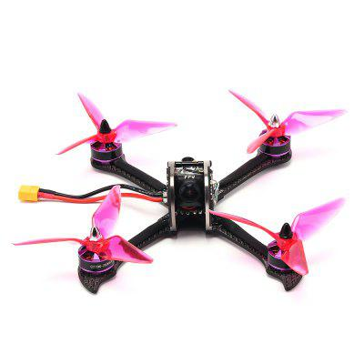 FuriBee X215 PRO 215mm FPV Racing Drone - BNFBrushless FPV Racer<br>FuriBee X215 PRO 215mm FPV Racing Drone - BNF<br><br>Brand: FuriBee<br>Continuous Current: 30A<br>Firmware: BLHeli-S<br>Flight Controller Type: F4<br>KV: 2300<br>Model: 2206<br>Motor Type: Brushless Motor<br>Package Contents: 1 x X215 PRO FPV Racing Drone, 1 x 5.8G Pagoda Antenna, 1 x Camera Mount, 1 x FrSky XM+ Receiver<br>Package size (L x W x H): 30.00 x 25.00 x 18.00 cm / 11.81 x 9.84 x 7.09 inches<br>Package weight: 0.5300 kg<br>Product size (L x W x H): 28.00 x 24.00 x 16.00 cm / 11.02 x 9.45 x 6.3 inches<br>Product weight: 0.4900 kg<br>Sensor: CCD<br>Type: Frame Kit<br>Version: BNF<br>Video Resolution: 800TVL ( horizontal )
