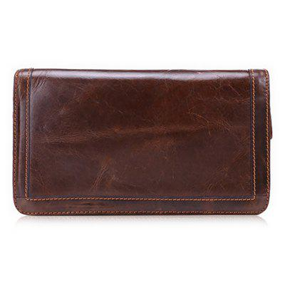 Men Leisure Retro Zipper Around Leather Long WalletWallets<br>Men Leisure Retro Zipper Around Leather Long Wallet<br><br>Features: Wearable<br>Gender: Men<br>Material: Leather, Polyester<br>Package Size(L x W x H): 23.00 x 5.00 x 13.00 cm / 9.06 x 1.97 x 5.12 inches<br>Package weight: 0.3400 kg<br>Packing List: 1 x Wallet<br>Product Size(L x W x H): 21.50 x 4.00 x 12.00 cm / 8.46 x 1.57 x 4.72 inches<br>Product weight: 0.3200 kg<br>Style: Fashion, Casual<br>Type: Wallet