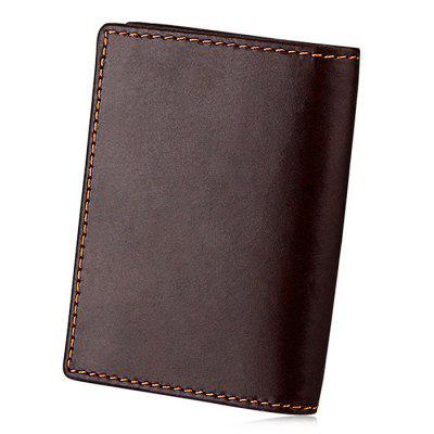 Men Leisure Bifold RFID Blocking Genuine Leather WalletCoin Purses&amp;Holders<br>Men Leisure Bifold RFID Blocking Genuine Leather Wallet<br><br>Features: Wearable<br>Gender: Men<br>Material: Leather, Polyester<br>Package Size(L x W x H): 9.00 x 3.00 x 12.00 cm / 3.54 x 1.18 x 4.72 inches<br>Package weight: 0.1000 kg<br>Packing List: 1 x Wallet<br>Product Size(L x W x H): 7.60 x 1.80 x 10.60 cm / 2.99 x 0.71 x 4.17 inches<br>Product weight: 0.0500 kg<br>Style: Fashion, Casual<br>Type: Wallet