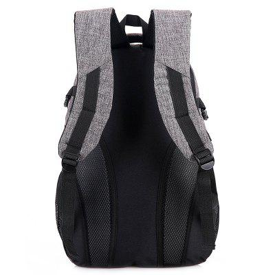 Men Leisure Multifunctional Nylon BackpackBackpacks<br>Men Leisure Multifunctional Nylon Backpack<br><br>Features: Wearable<br>Gender: Men<br>Material: Polyester, Nylon<br>Package Size(L x W x H): 30.00 x 2.00 x 52.00 cm / 11.81 x 0.79 x 20.47 inches<br>Package weight: 0.5500 kg<br>Packing List: 1 x Backpack<br>Product weight: 0.5300 kg<br>Style: Fashion, Casual<br>Type: Backpacks