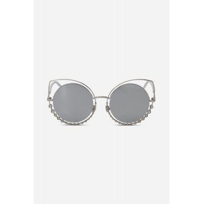 Multifunctional Round Lens Women SunglassesStylish Sunglasses<br>Multifunctional Round Lens Women Sunglasses<br><br>Frame material: Alloy<br>Functions: UV Protection, Windproof, Dustproof, Fashion<br>Gender: For Women<br>Lens material: Resin<br>Package Contents: 1 x Sunglasses<br>Package size (L x W x H): 17.00 x 8.00 x 7.00 cm / 6.69 x 3.15 x 2.76 inches<br>Package weight: 0.0700 kg<br>Product weight: 0.0380 kg