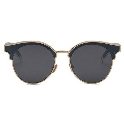 Western Style All-match Round Lens Unisex SunglassesStylish Sunglasses<br>Western Style All-match Round Lens Unisex Sunglasses<br><br>Frame material: Metal, Plastic<br>Functions: UV Protection, Windproof, Dustproof, Fashion<br>Gender: For Unisex<br>Lens material: PC<br>Package Contents: 1 x Sunglasses<br>Package size (L x W x H): 18.00 x 8.00 x 7.00 cm / 7.09 x 3.15 x 2.76 inches<br>Package weight: 0.0600 kg<br>Product weight: 0.0438 kg