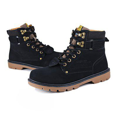 Male Casual Breathable High Top Lace Martin BootsMens Boots<br>Male Casual Breathable High Top Lace Martin Boots<br><br>Closure Type: Lace-Up<br>Contents: 1 x Pair of Shoes<br>Function: Slip Resistant<br>Lining Material: Mesh<br>Materials: PU, Rubber, Mesh<br>Occasion: Tea Party, Shopping, Outdoor Clothing, Office, Casual, Party, Daily, Holiday<br>Outsole Material: Rubber<br>Package Size ( L x W x H ): 31.00 x 21.00 x 11.00 cm / 12.2 x 8.27 x 4.33 inches<br>Package Weights: 0.90kg<br>Pattern Type: Solid<br>Seasons: Autumn,Spring<br>Style: Modern, Leisure, Fashion, Comfortable, Casual<br>Toe Shape: Round Toe<br>Type: Boots<br>Upper Material: PU