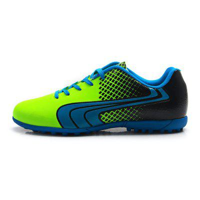 TIEBAO Male Colorful Wearable Spiked Soccer ShoesAthletic Shoes<br>TIEBAO Male Colorful Wearable Spiked Soccer Shoes<br><br>Brand: TIEBAO<br>Closure Type: Lace-Up<br>Contents: 1 x Pair of Shoes<br>Function: Slip Resistant<br>Materials: Rubber, PVC<br>Occasion: Sports, Soccer, Shopping, Party, Outdoor Clothing, Casual<br>Outsole Material: Rubber<br>Package Size ( L x W x H ): 31.00 x 22.00 x 12.00 cm / 12.2 x 8.66 x 4.72 inches<br>Package Weights: 0.96kg<br>Seasons: Autumn,Spring<br>Style: Modern, Leisure, Fashion, Casual, Comfortable<br>Toe Shape: Round Toe<br>Type: Sports Shoes<br>Upper Material: PVC