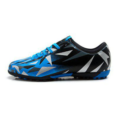 TIEBAO Male Fashionable Anti Slip Spiked Soccer ShoesAthletic Shoes<br>TIEBAO Male Fashionable Anti Slip Spiked Soccer Shoes<br><br>Brand: TIEBAO<br>Closure Type: Lace-Up<br>Contents: 1 x Pair of Shoes<br>Function: Slip Resistant<br>Materials: Rubber, PVC<br>Occasion: Sports, Soccer, Shopping, Party, Outdoor Clothing, Holiday, Casual<br>Outsole Material: Rubber<br>Package Size ( L x W x H ): 31.00 x 22.00 x 12.00 cm / 12.2 x 8.66 x 4.72 inches<br>Package Weights: 0.96kg<br>Seasons: Autumn,Spring<br>Style: Modern, Leisure, Fashion, Comfortable, Casual<br>Toe Shape: Round Toe<br>Type: Sports Shoes<br>Upper Material: PVC