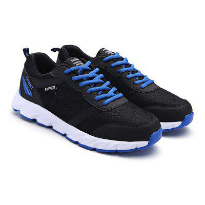 Male Breathable Light Running Sports SneakersAthletic Shoes<br>Male Breathable Light Running Sports Sneakers<br><br>Closure Type: Lace-Up<br>Contents: 1 x Pair of Shoes<br>Materials: PU, MD<br>Occasion: Sports, Shopping, Running, Riding, Holiday, Daily, Casual, Outdoor Clothing<br>Outsole Material: MD<br>Package Size ( L x W x H ): 30.00 x 16.00 x 10.00 cm / 11.81 x 6.3 x 3.94 inches<br>Package Weights: 0.76kg<br>Pattern Type: Solid, Letter<br>Seasons: Autumn,Spring<br>Style: Leisure, Modern, Fashion, Comfortable, Casual<br>Toe Shape: Round Toe<br>Type: Sports Shoes<br>Upper Material: PU