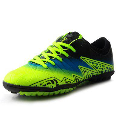 TIEBAO Male Stylish Spiked Light Soccer ShoesAthletic Shoes<br>TIEBAO Male Stylish Spiked Light Soccer Shoes<br><br>Brand: TIEBAO<br>Closure Type: Lace-Up<br>Contents: 1 x Pair of Shoes<br>Function: Slip Resistant<br>Materials: Rubber, PVC<br>Occasion: Sports, Soccer, Shopping, Party, Outdoor Clothing, Holiday, Casual<br>Outsole Material: Rubber<br>Package Size ( L x W x H ): 31.00 x 22.00 x 12.00 cm / 12.2 x 8.66 x 4.72 inches<br>Package Weights: 0.96kg<br>Seasons: Autumn,Spring<br>Style: Modern, Leisure, Fashion, Comfortable, Casual<br>Toe Shape: Round Toe<br>Type: Sports Shoes<br>Upper Material: PVC