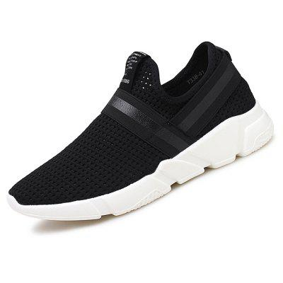 Male Breathable Casual ShoesCasual Shoes<br>Male Breathable Casual Shoes<br><br>Contents: 1 x Pair of Shoes<br>Materials: Mesh<br>Occasion: Outdoor Clothing, Holiday, Daily, Casual<br>Outsole Material: MD<br>Package Size ( L x W x H ): 32.00 x 22.00 x 11.00 cm / 12.6 x 8.66 x 4.33 inches<br>Package Weights: 0.8100<br>Seasons: Autumn,Summer<br>Style: Leisure, Fashion, Casual<br>Type: Casual Shoes<br>Upper Material: Mesh