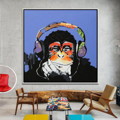 Mintura Music Gorilla Hand Painted Home Decor Oil PaintingOil Paintings<br>Mintura Music Gorilla Hand Painted Home Decor Oil Painting<br><br>Brand: Mintura<br>Craft: Oil Painting<br>Form: One Panel<br>Material: Canvas<br>Package Contents: 1 x Painting<br>Package size (L x W x H): 91.00 x 5.00 x 5.00 cm / 35.83 x 1.97 x 1.97 inches<br>Package weight: 0.6000 kg<br>Painting: Without Inner Frame<br>Product size (L x W x H): 80.00 x 80.00 x 0.10 cm / 31.5 x 31.5 x 0.04 inches<br>Product weight: 0.5000 kg<br>Shape: Square<br>Style: Modern<br>Subjects: Animal<br>Suitable Space: Bedroom,Dining Room,Hotel,Living Room