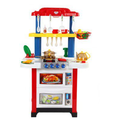 Double Side Dining Table Toy Set for Children