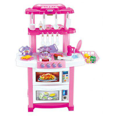 Single Side Dining Table Toy Set for Children