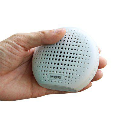 WKING S4 Portable Bluetooth Speaker Music PlayerSpeakers<br>WKING S4 Portable Bluetooth Speaker Music Player<br><br>Audio Source: Bluetooth Enabled Devices,Electronic Products with 3.5mm Plug,TF/Micro SD Card<br>Battery Capacity: 600mA<br>Bluetooth Version: Bluetooth V4.2<br>Brands: WKING<br>Charging Time: 6 hours<br>Compatible with: PC, PSP, Tablet PC, TF/Micro SD Card, MP5, MP4, Computer, iPhone, iPod, Laptop, Mobile phone, MP3<br>Connection: Wireless<br>Design: Classical<br>Interface: TF Card Slot, 3.5mm Audio<br>Model: S4<br>Package Contents: 1 x WKING S4  Bluetooth Speaker, 1 X USB Cable, 1 x AUX Cable, 1 x Portable Ring, 1 x English / Chinese Version Manual<br>Package size (L x W x H): 10.00 x 10.00 x 10.00 cm / 3.94 x 3.94 x 3.94 inches<br>Package weight: 0.1700 kg<br>Power Output: 3W<br>Product size (L x W x H): 9.20 x 8.30 x 8.40 cm / 3.62 x 3.27 x 3.31 inches<br>Product weight: 0.1100 kg<br>Supports: Water Resistant, TF Card Music Playing, Bluetooth, FM, Volume Control<br>Working Time: 1.5 hours